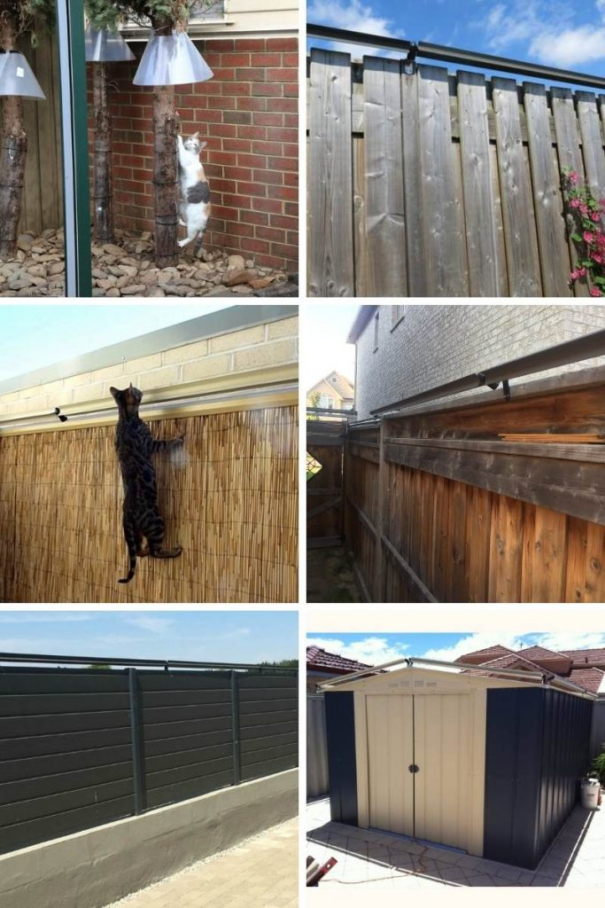 cat fences using the Oscillot containment system